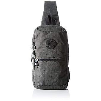 Kipling SATIL, Rygsække Unisex-Voksen, Sort Pebret, 8,5x20x30 cm