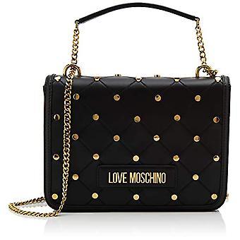 Love Moschino Jc4094pp1a, Women's Crossbody Bag, Black (Black), 9x19x26 cm (W x H x L)
