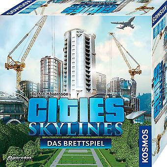 FengChun 691462 - Städte: Skylines, Das Brettspiel zum PC-Spiel, Für 1 bis 4 Spieler ab 10 Jahre