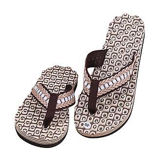 Uusi kesä cross tie flip flops ranta sandaalit