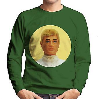 Action Man Blonde Hair Men's Sweatshirt