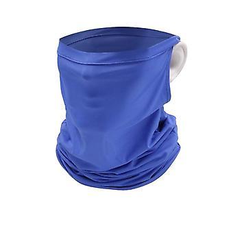 Ice Silk Sheer Scarf, Uv Protection Bandana Cycling Face Mask