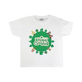 Animal Crossing Boys Logo T-Shirt
