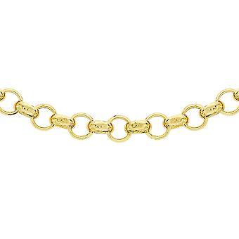9K Gul Guld Belcher Kæde halskæde gave til kone / kæreste / mor 24 ''