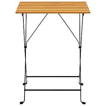 vidaXL bistro tafel 55x54x71 cm Acacia massief hout