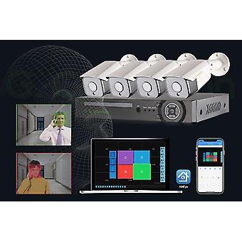 Audio vodotesné cctv video monitoring