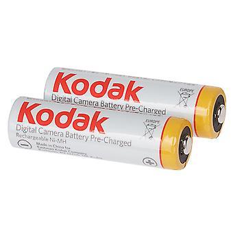 Kodak Ni-MH 2x AA 2100mAh 1.2V újratölthető akkumulátorok