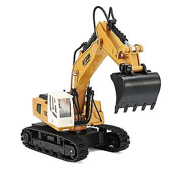 HUINA 1:18 9 Channel 2.4G RC Excavator