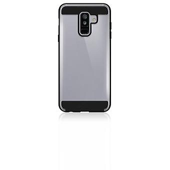 Black Rock - Air Protect Cover for Samsung Galaxy A6+ (2018), black - Black - Thermoplastic Polyurethane (TPU) (1 Accessorie)