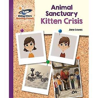Reading Planet - Animal Sanctuary Kitten Crisis - Purple: Galaxy