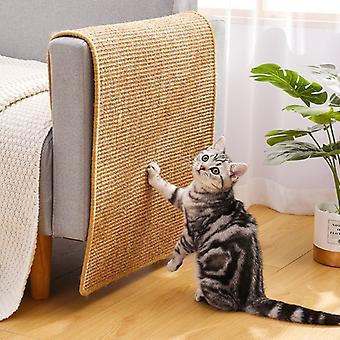 Cat Scratcher Sisal Mat Board Cat Scratch pentru ascuți unghiile Scraper Pisici Copac Cat Jucării Scaun Masă Sofa Mats Mobilier Protector