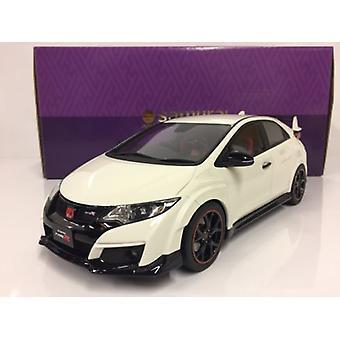 Honda Civic Type R White 1:18 Scale Resin Kyosho KSR18022W
