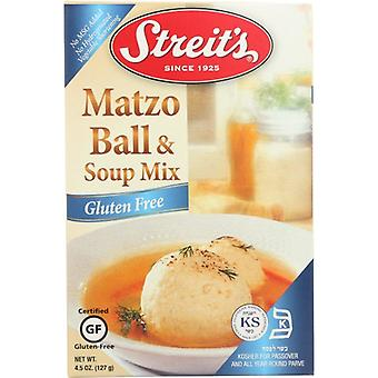 Streits Matzo Ball Soup Gf, Case of 12 X 4.5 Oz
