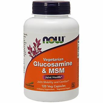 Nu Foods Glucosamine & MSM, 120 Veg Caps