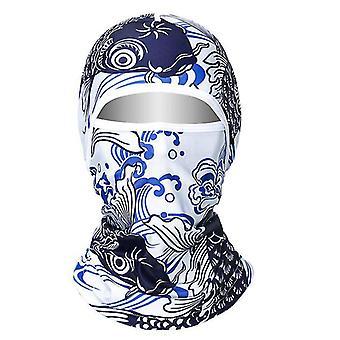 K # glace sérigraphie couvre-chef, vélo camping pêche masque de protection complète du visage az14093