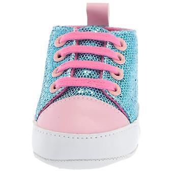 "Luvable Prieteni Copii ""Sparkly Sneaker Crib pantof"