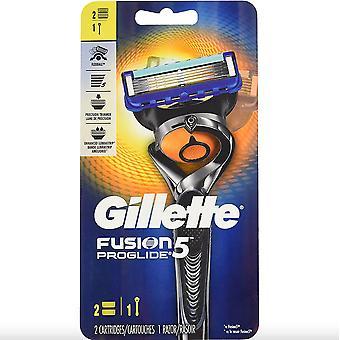 Gillette Fusion 5 Proglide 1 Scheermes + 2 Patronen