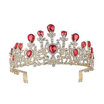 Joias de Cabelo Tiaras Coroa Casamento Coroa Coroa De Strass Coroa de Cristal de Strass