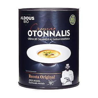 Organic pumpkin cream with garam massala 360 ml of cream