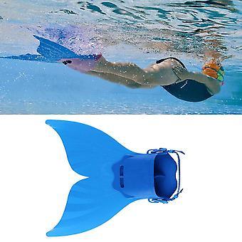 Kids swimming fins training flipper mermaid swim fin swimming foot flipper diving feet tail for children water sports training