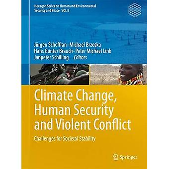 Climate Change Human Security and Violent Conflict by Edited by J rgen Scheffran & Edited by Michael Brzoska & Edited by Hans Gunter Brauch & Edited by Peter Michael Link & Edited by Janpeter Schilling