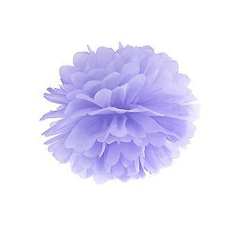 LAST FEW - 35cm Lilac Tissue Paper Pom Pom Party Decoration