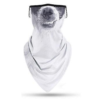 (τρισδιάστατη στοματική εκτύπωση Δ) Παιδιά αγόρια κορίτσια Balaclava πρόσωπο θερμότερη μάσκα λαιμό μαντήλι σωλήνα Snood ποδηλάτης Bandana