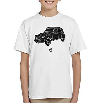 Citroen 2CV vinkel för lätt barn T-shirt