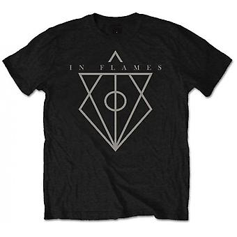 In Flames - Jesterhead Men's Medium T-Shirt - Black