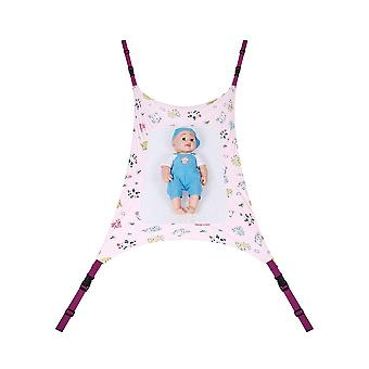 Safe Detachable Baby Cot Crib Swing Elastic Hammock Adjustable Net Portable