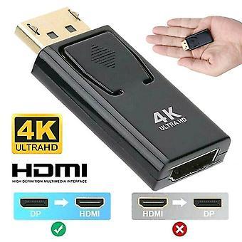 4K-weergavepoort DP Male naar HDMI Female Adapter Audio HD Converter voor 1080P HDTV