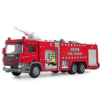 おもちゃ車1:50消防車シリーズ合金モデルシミュレーションダイキャスティングエンジニアリングモデル子供の楽しいおもちゃ