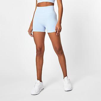 USA Pro Womens Seamless 3 Inch Shorts Sports Training Fitness Gym Performance