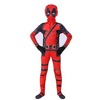Enfants Garçons Deadpool Fancy Dress Party Jumpsuit Cosplay Costume Halloween