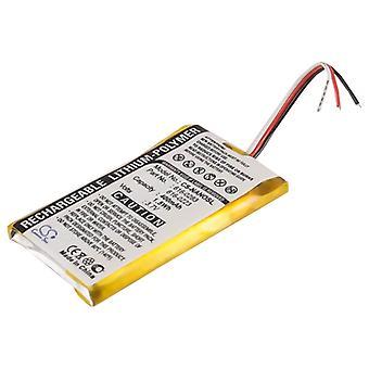 Battery for Apple iPOD Nano 2GB 4GB 616-0223 616-0224 616-0283 MA099LL/A 400mAh