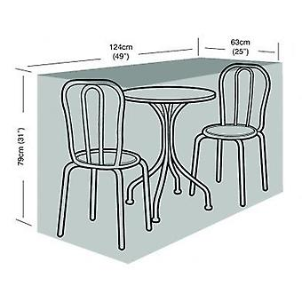 2 Seater Kleine Bistro Set Cover Waterdicht Polyethyleen