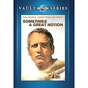 Nogle gange en stor begreb [DVD] USA importerer