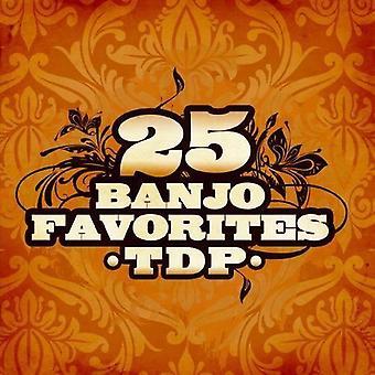 TDP - 25 Banjo Suosikit [CD] USA tuonti