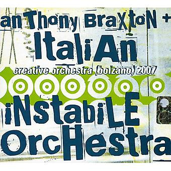 Anthony Braxton & Italian Instabile Orchestra - Creative Orchestra-Bolzano 2007 [CD] USA import