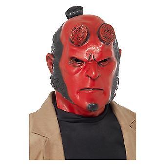 Maska Hellboy s původní maskou