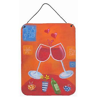 Wein Toast Cheers von Sarah Latham Wand oder Tür hängen Drucke