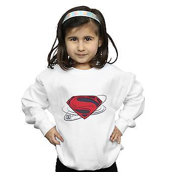 DC Comics Girls Justice League Movie Superman Logo Sweatshirt