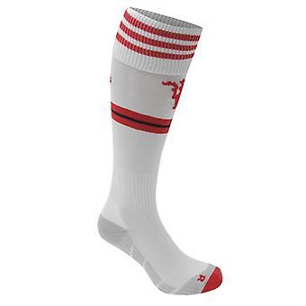 2015-2016 Man Utd Adidas Away Socks (White)