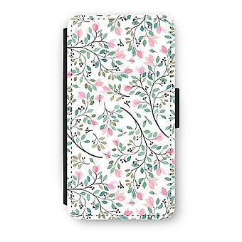 Samsung Galaxy S6 Flip Case - Dainty flowers