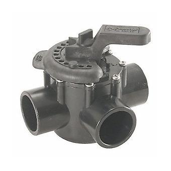 Pentair 263035 3-porters holdbar Irrigation/PVC PTFE belagt AVLEDERVENTIL
