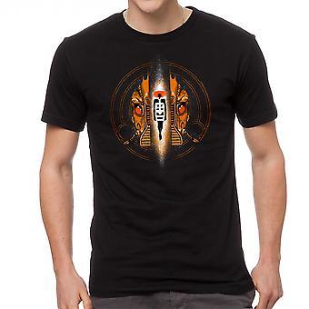 Le cinquième élément élément cercle noir T-shirt homme