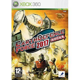Earth Defence Force 2017 (Xbox 360)-fabriek verzegeld