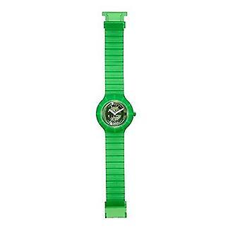 Hip hop horloge pols horloge siliconen horloge ghost groen HWU0103