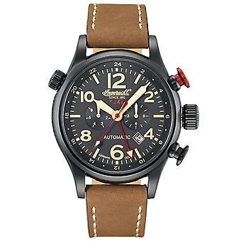 Ingersoll men's watch wristwatch automatic Lawrence IN3218BBK