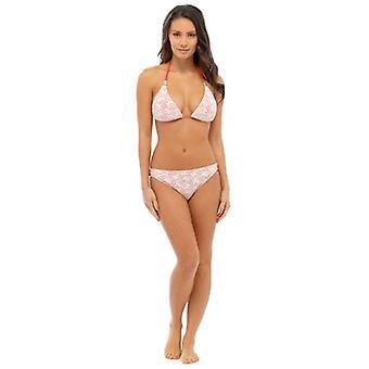 Ladies Women 2 pcs Padded Crochet Bikini Swimwear Swimsuit Various Colours & Sizes